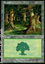 Forest Version 3 // NM // Euro Lands // engl. // Magic the Gathering