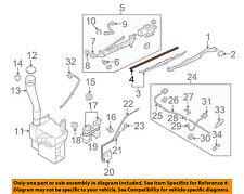 SUBARU OEM B9 Tribeca Wiper Washer-Windshield-Blade Insert Left SOA591U326R