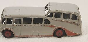VINTAGE 1950s OR 1960s DINKY DIECAST OBSERVATION COACH BUS MADE IN ENGLAND