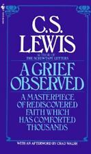 A Grief Observed a Christian paperback Book by C S Lewis cs FREE SHIPPING