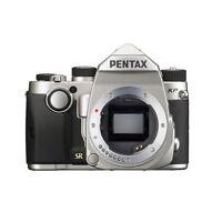 Pentax KP DSLR Camera Professional Digital Camera Body Only Silver BRAND NEW
