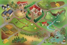 Achoka outdoor-Spielteppich Farm wasserdicht 140 x 200 cm