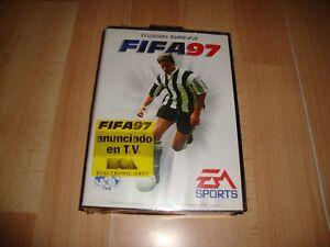 FIFA 97 DE EA SPORTS PARA LA SEGA MEGA DRIVE NUEVO PRECINTADO