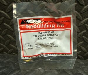 NEW Sexauer Faucet Rebuilding Repair Kit 279992 Chicago Swing Spout