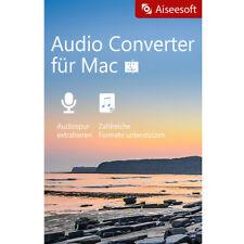 Aiseesoft Audio Converter MAC Lebenslange Lizenz Garantie Download