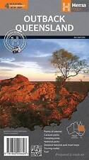 HEMA MAPS OUTBACK QUEENSLAND 4th Ed CAMPING TOURING 4X4 CARAVAN PARKS