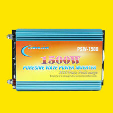 1500W Pure Sine Wave Power Inverter DC 12V to AC 220V-230V, power tool