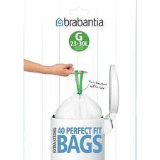 brabantia Müllbeutel Kode G 23 - 30 L. Mülltüten 2x Spenderpackung = 80 Stk.