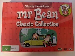 Mr Bean Classic Collection (25 years) 4 DVD Set, New