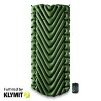 KLYMIT Static V Luxe Green Sleeping Pad XL Camping - CERTIFIED REFURBISHED