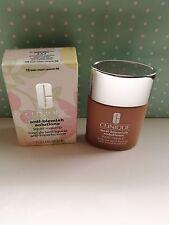CLINIQUE ANTI-Mancha Soluciones Líquido Maquillaje #18 Fresh Crema Caramelo #NEW
