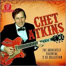 Absolutely Essential Collection - 3 DISC SET - Chet Atkins (2017, CD NEUF)