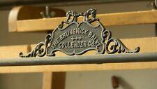 Antique Brunswick Billiard Scorekeeper Copper Circa 1910