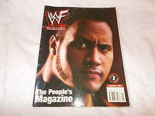 WWE Wrestling Magazine January 1999 The Rock