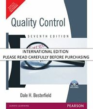 Quality Control, (With CD ROM), 7th ed. by Dale H. Besterfield
