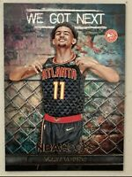 TRAE YOUNG 2018-19 PANINI HOOPS WE GOT NEXT ROOKIE ATLANTA HAWKS RC PARALLEL