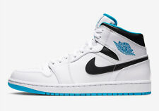NEW WITH BOX Men's Nike Air Jordan 1 Mid Laser Blue 554724-141