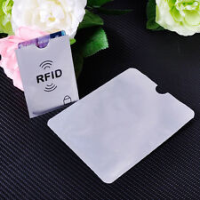 RFID Blocking Credit Card Passport Secure Protector Case Sleeve Shield Holder#n8