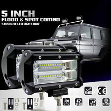 72W Spot Cree LED Light Work Bar Lamp Driving Fog Offroad SUV 4WD Car Boat Truck