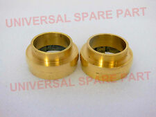 PAIR NEW BRASS ROYAL ENFIELD FRONT FORK COVER TUBE  BUSH