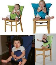KisKise Sack'N Seat Baby Child Portable High Chair Seat Cover orange