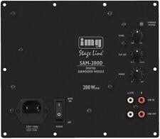 Img Stage Line SAM-200D Modulo Attivo Attivo Amplificatore Bass 200W New