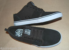 MENS SHOES Air Speed Lace Up ATHLETIC Black Mock Suede CANVAS 5