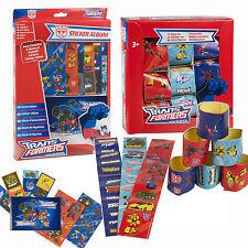 Transformers Pegatina Álbum y Pegatinas 80 Pieza Hoja Diversión Box Set