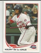 Keury De La Cruz Boston Red Sox 2013 Topps Pro Debut Minor League Card