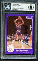 Larry Nance #34 signed autograph auto 1985-86 Star Basketball Card BAS Slabbed