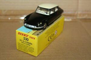 Citroën DS 19 1/43 Dinky Toys 530 Noir Atlas F Neuf Boite édition limitée MiB