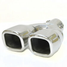 Exhaust Pipe Double Tail Muffler Tip For Mercedes B Cl Clk E Gl Ml S Slk A C Clc