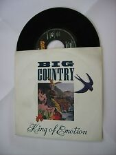 """BIG COUNTRY - KING OF EMOTION - 7"""" VINYL HOLLAND 1988"""