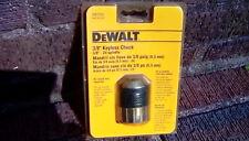 "Dewalt DW2350 keyless Drill Chuck 24 spindle 3/8"" new"