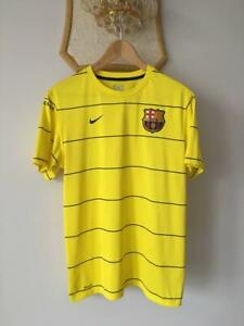 FC BARCELONA 2008 2009 TRAINING FOOTBALL SOCCER SHIRT JERSEY NIKE CAMISETA ADULT