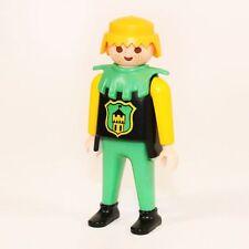 Playmobil Grundfigur gelb grün vorn Wappen Turnier 3652  Ritter 3666 3667 Figur