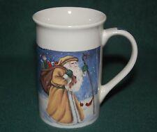 Royal Norfolk Santa / Holiday Collectible Coffee Mug - 12 ounce ceramic cup