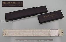 Regla calculo --- Nestler nº 21 Darmstadt Lahr - 29,7 cm --- d.r.p. + d.r.g.m.