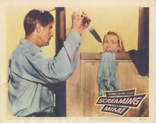 """SCREAMING MIMI""-ORIGINAL  LOBBY CARD-#5-GREAT SHOWER SCENE"