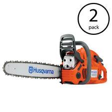 """Husqvarna 455 Rancher 20"""" 55.5cc 3.5 HP Gas Powered X-Torq Chainsaw (2 Pack)"""