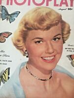 Vintage Collectible Movie Magazine Photoplay Doris Day Cover August 1951