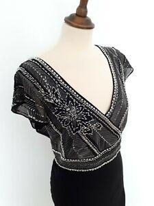 Black Evening Dress Size 16. Pearce Fionda