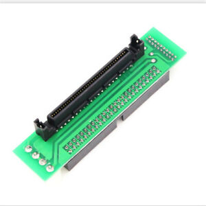 SCSI SCA 80 PIN TO 50 PIN SCSI Adapter SCA 80 PIN TO IDE 50 Male Converter New