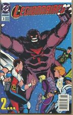 Legionnaires 1993 series # 3 UPC code near mint comic book