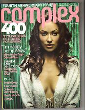 OLIVIA WILDE EMINEM OBIE TRICE Complex Magazine 4/06 EMILE HIRSCH