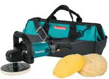 "Makita 9237CX3 7"" Pro Variable Electric Polisher and Sander Kit Brand New!"