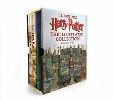 Harry Potter: The Illustrated Collection (Books 1-3 Boxed Set) Hardcover NEW