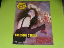 SUR LA MEME LONGUEUR D'ONDES - N° 28- SEPT 1990 -VRP - PARABELLUM - FRANCOFOLIES