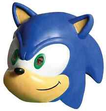 Sonic the Hedgehog 3/4 Mask Sega Video Game Halloween Adult Costume Accessory