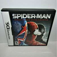 Spider-Man: Shattered Dimensions (Nintendo DS, 2010) Complete Tested & Working